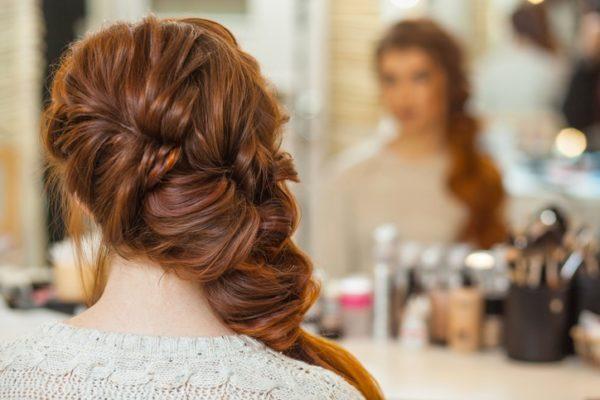 Peinados de madrina recogido lateral