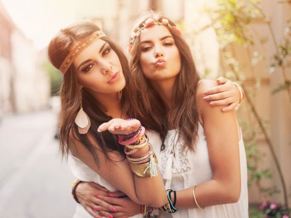 Peinados hippies Verano