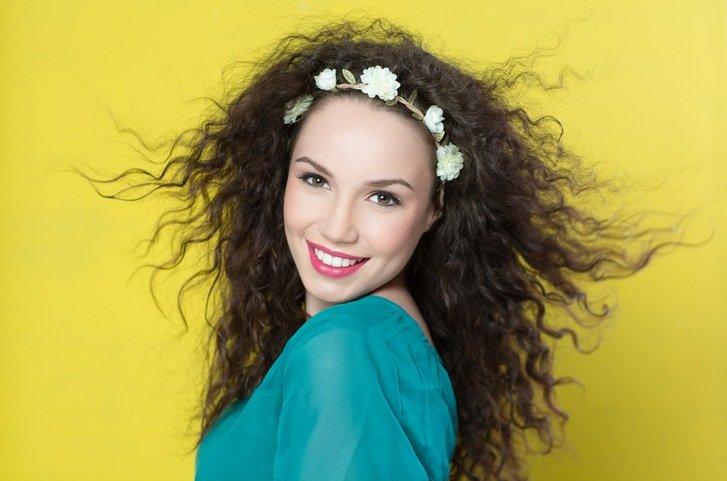 Corte de pelo mujer hippie