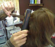 Peinados con la plancha