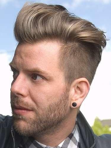 Encantador peinados hombre tupe Imagen De Tendencias De Color De Pelo - cortes-de-pelo-2014-hombre-tupe-con-rapado - Peinados
