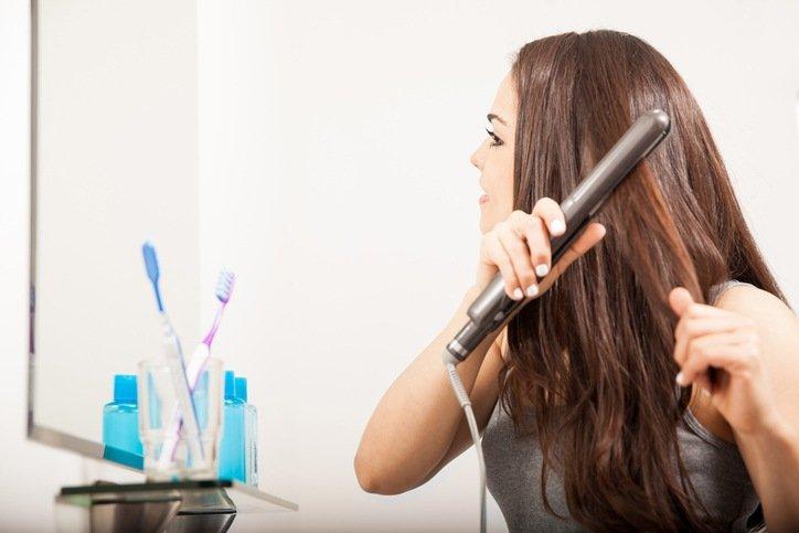 Como plancharse el cabello
