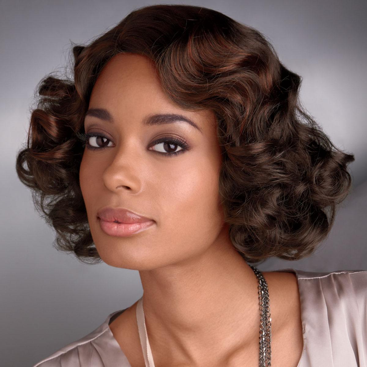 Fascinante años 20 peinados Imagen De Consejos De Color De Pelo - peinate-como-en-los-anos-20-con-pelo-corto-ondas-rizos ...