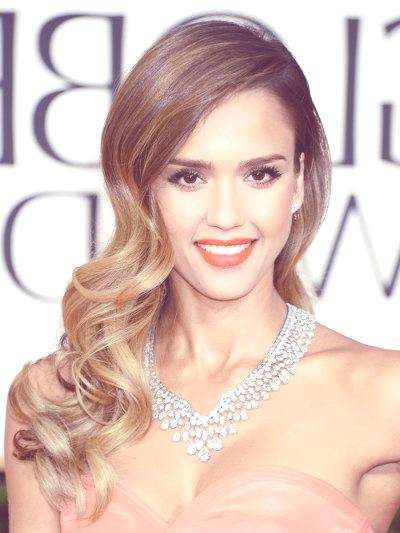 jessicaalbahairstyle2013goldenglobesbecomegorgeous