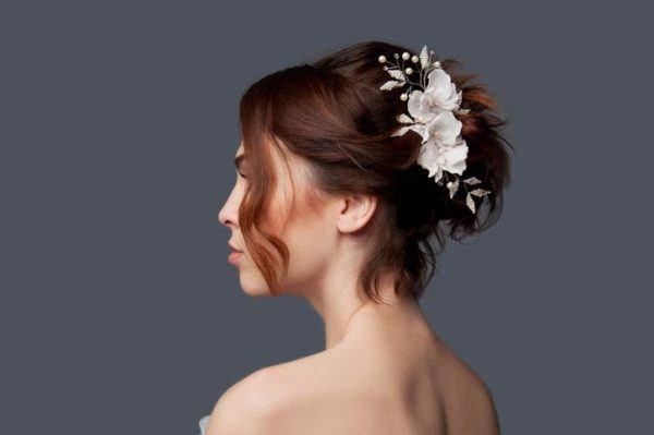 Peinados para thanksgiving accion de gracias pelo corto flores