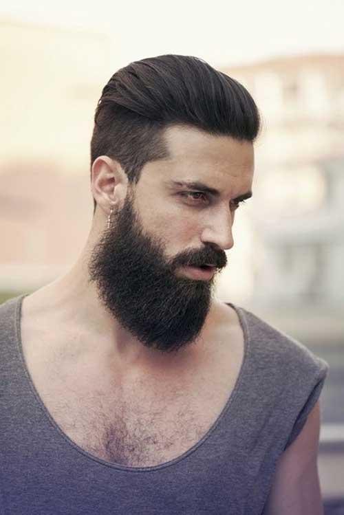 Peinados para hombre 2017 2018 peinados es for Peinado hacia atras hombre