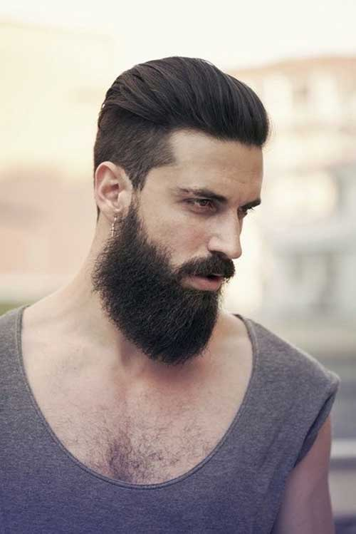 Peinado Para Atras Hombre 2017 Cortes De Pelo En Espana