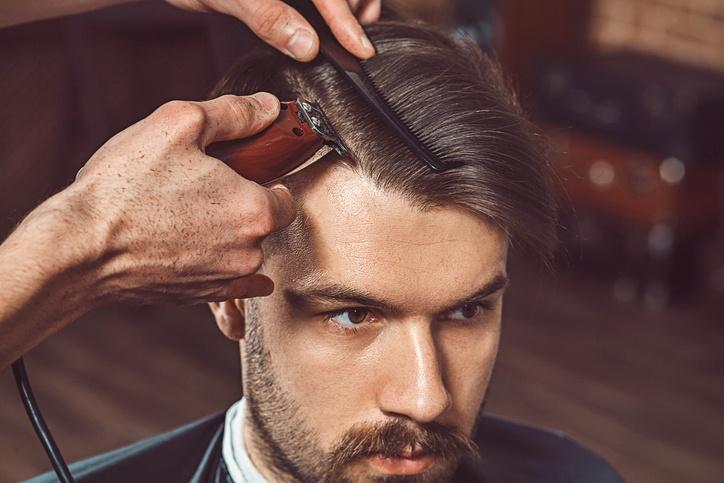 Cortes de pelo 2017 208 hombre en el peluquero