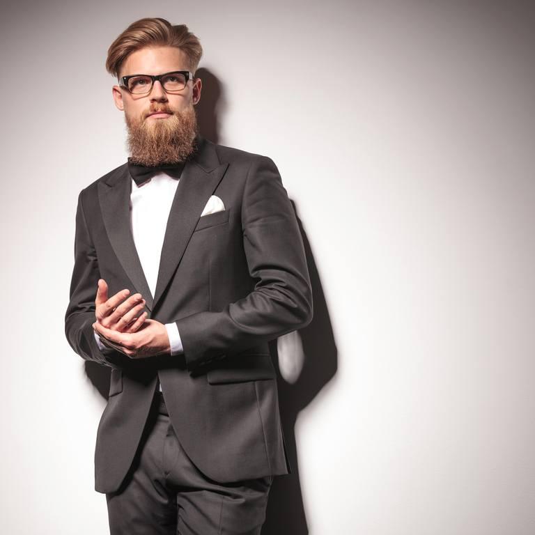 Cortes de pelo para el novio con barba