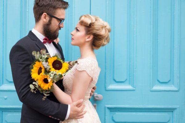 Cortes de pelo para el novio con la novia