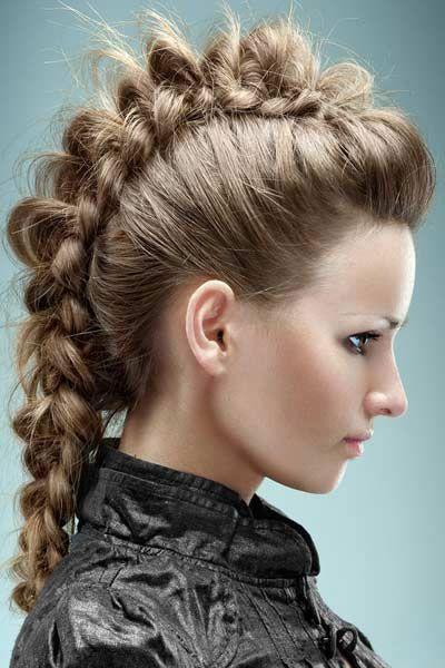 Peinados modernos recogidos 2016