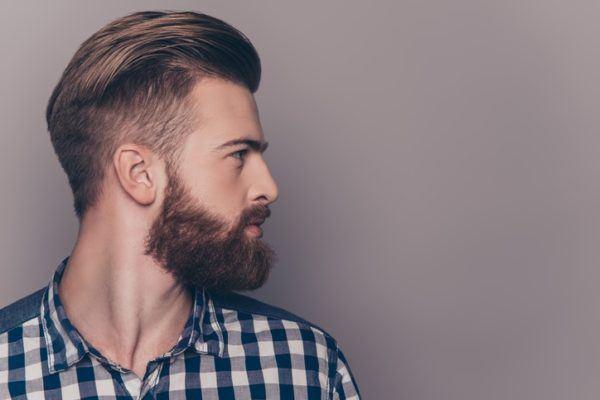 Cortes de pelo hombre hipster de lado