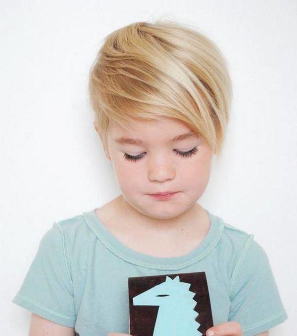 Perfecto peinados pelo corto niña Imagen de cortes de pelo Ideas - Cortes de Pelo para Niña Primavera Verano 2021 - PEINADOS 2021