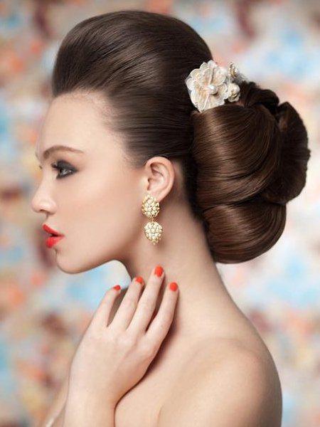 peinados-de-boda-moño-clasico