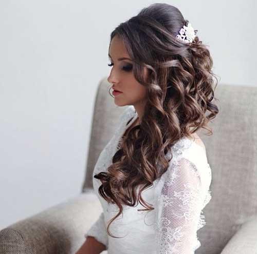 peinados-de-boda-semi-recogido-con-ondas