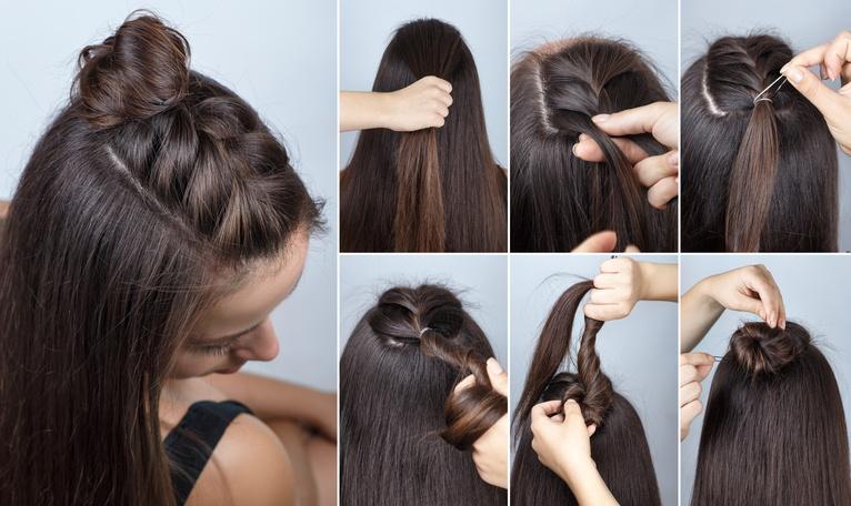 Mas De 25 Ideas Increibles De Peinados Semirecogidos Verano 2018 - Peinado-semirecogido-con-trenza