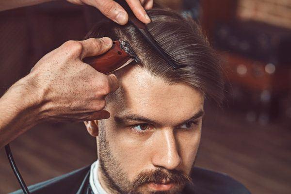Corte de pelo corto anos 50 peluqueria