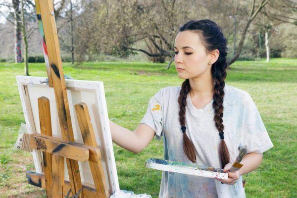 Como hacer trenzas de raiz o trenzas boxeadoras clasicas pintando