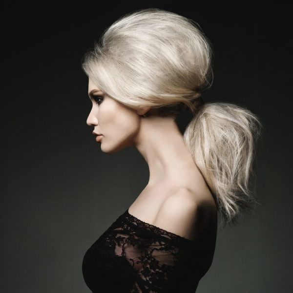 Cortes de pelo para cara alargada coleta alta