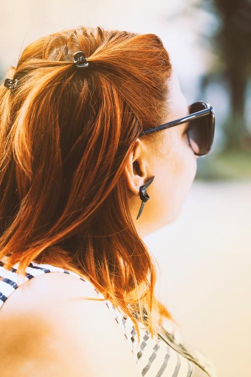 Peinados para media melena peinados pelo suelto con horquillas