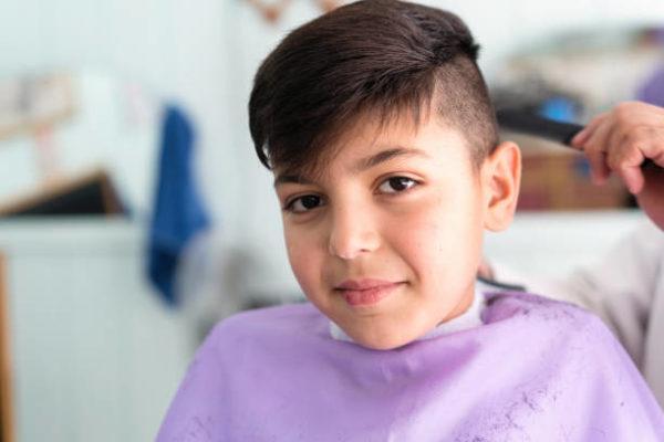 Cortes de pelo niño 2019 pelo corto asinetrico flequillo