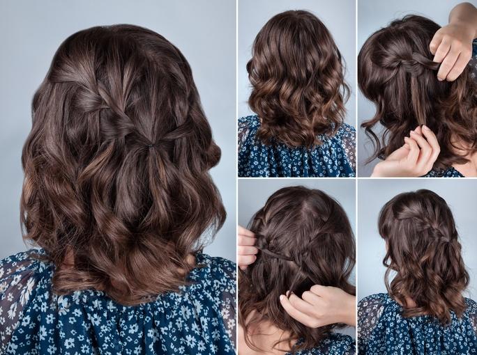 Peinados para el colegio para pelo corto