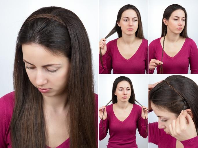 Peinados para el colegio para pelo largo
