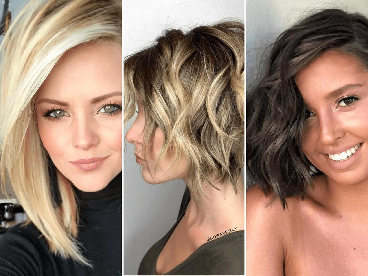 Un look impactante con tendencias en peinados 2021 Fotos de tendencias de color de pelo - Peinados con corte de pelo bob 2021 - PEINADOS 2021